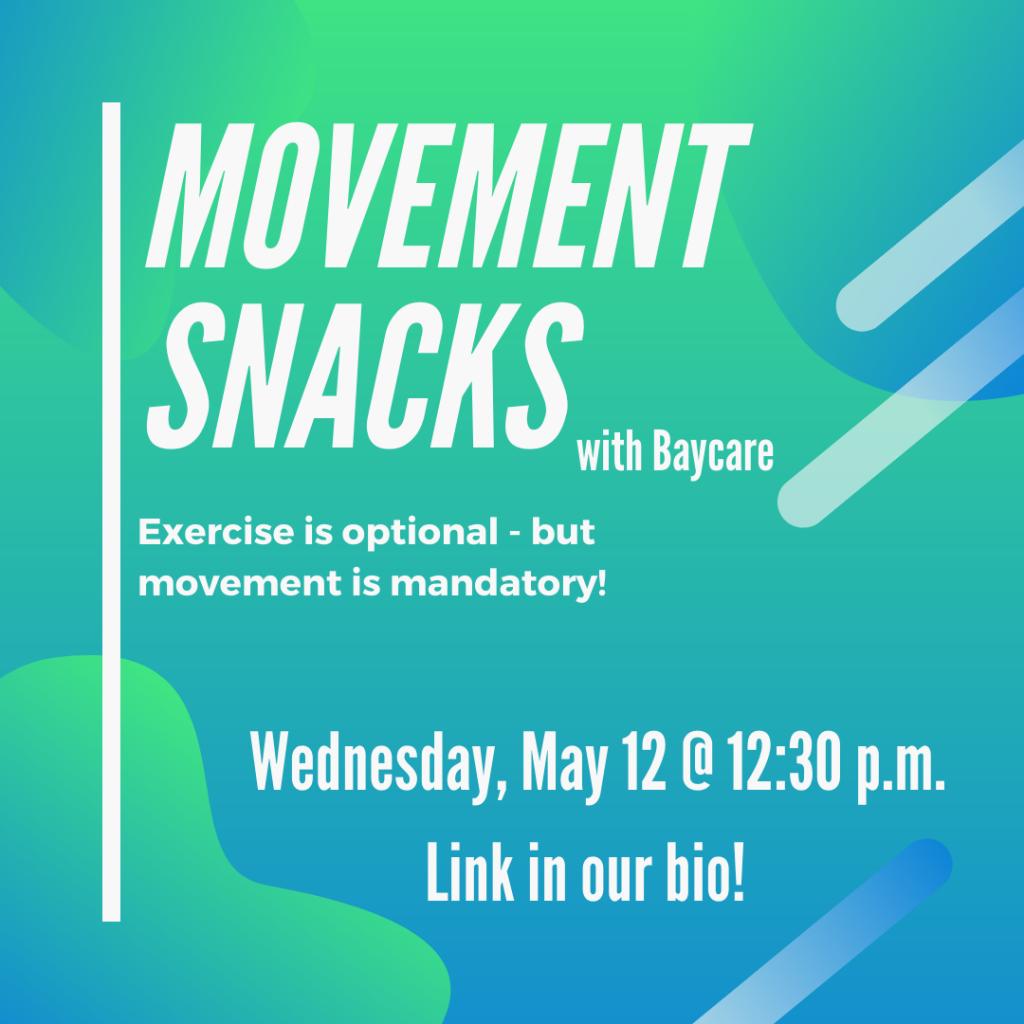 Movement Snacks
