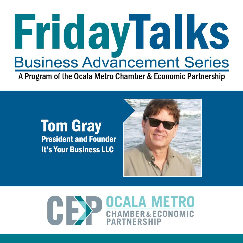 Friday Talks Tom Gray